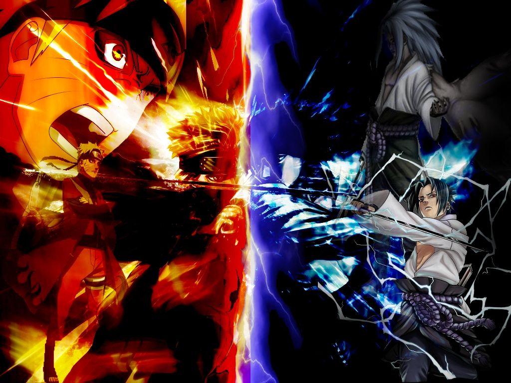 Naruto Vs Sasuke Wallpapers Naruto Fan Art Naruto Vs Sasuke Naruto And Sasuke Wallpaper