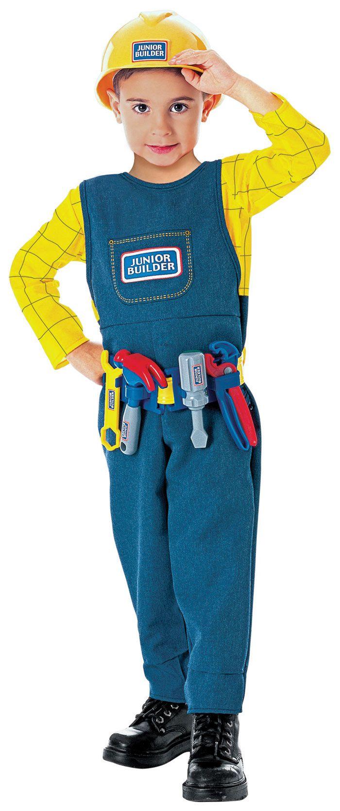 Junior Builder Everyday-Play Career Costume #Construction   Boy ...