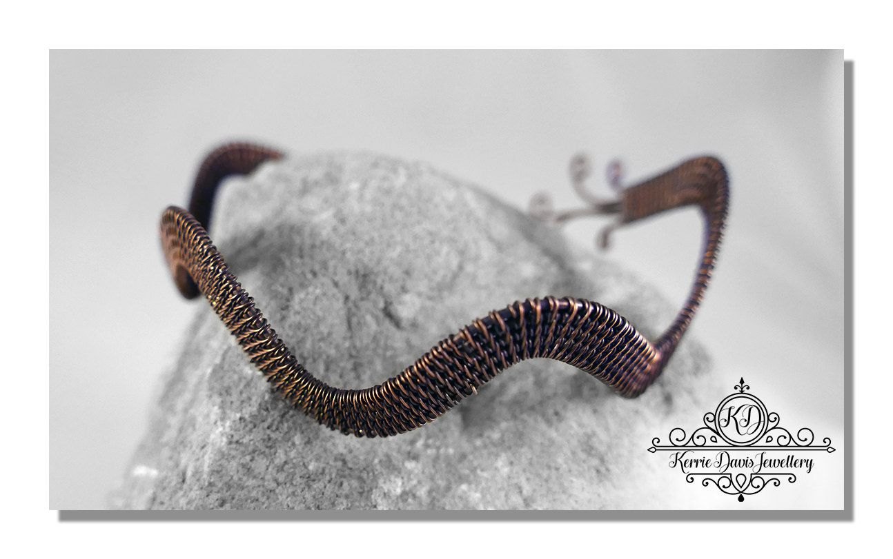 Customised Handmade Wire Wrapped Celtic Elven Inspired Antiqued ...