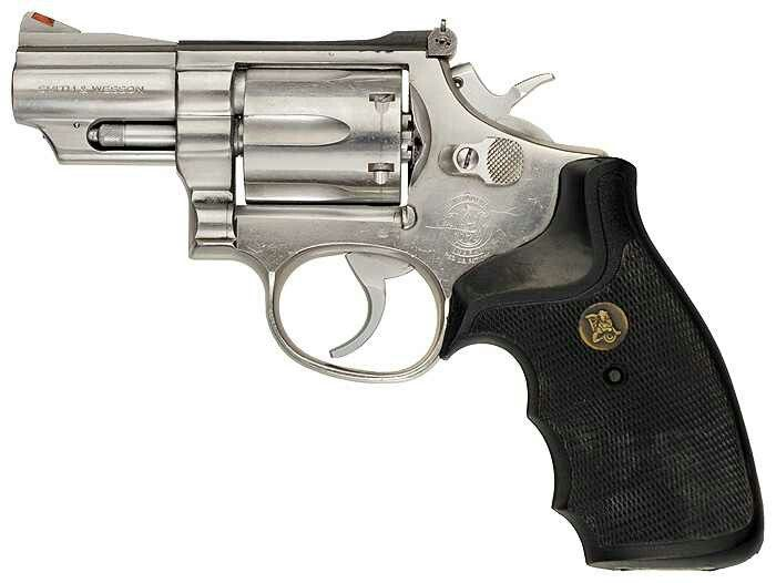 """With 4/"""" Barrel Gun holster For Smith /& Wesson 357 mag snub nose 6 SHOT"""