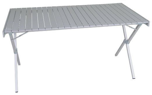 Perfect You Can Actually Fit A Chair Under This Folding Table For