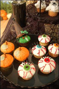 Halloween cupcake ideas inspire magic and mystery. See more ...