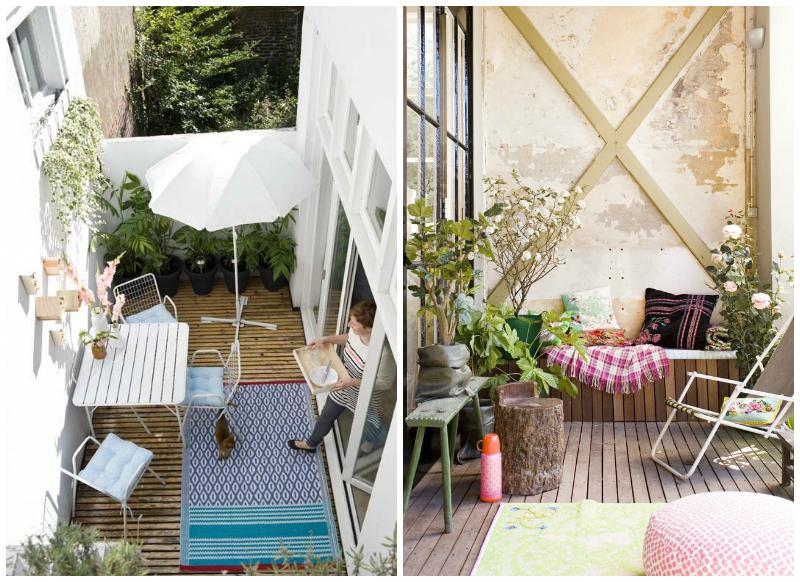 Ideas para reformar tu patio o terraza la bici azul for Decoracion para patios exteriores
