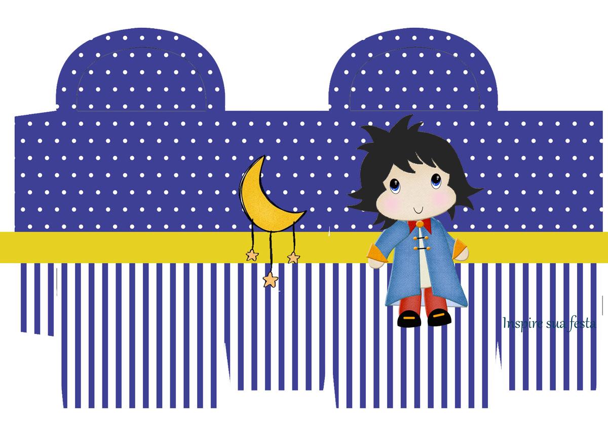 Pequeno Principe Moreno Kit Festa Infantil Gratis Para Imprimir