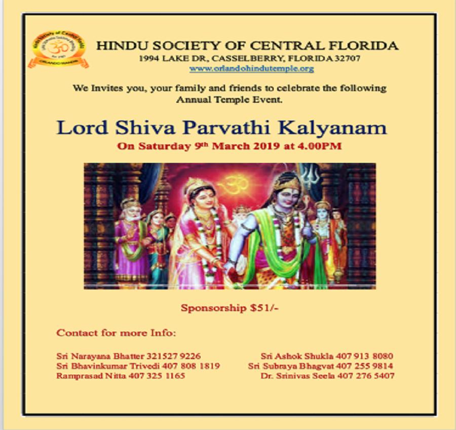 Pin By OrlandoDesi On Lord Shiva Parvathi Kalyanam