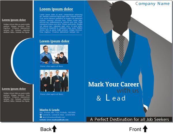 Brochure Design for an Education Institute on Behance   flyer ...