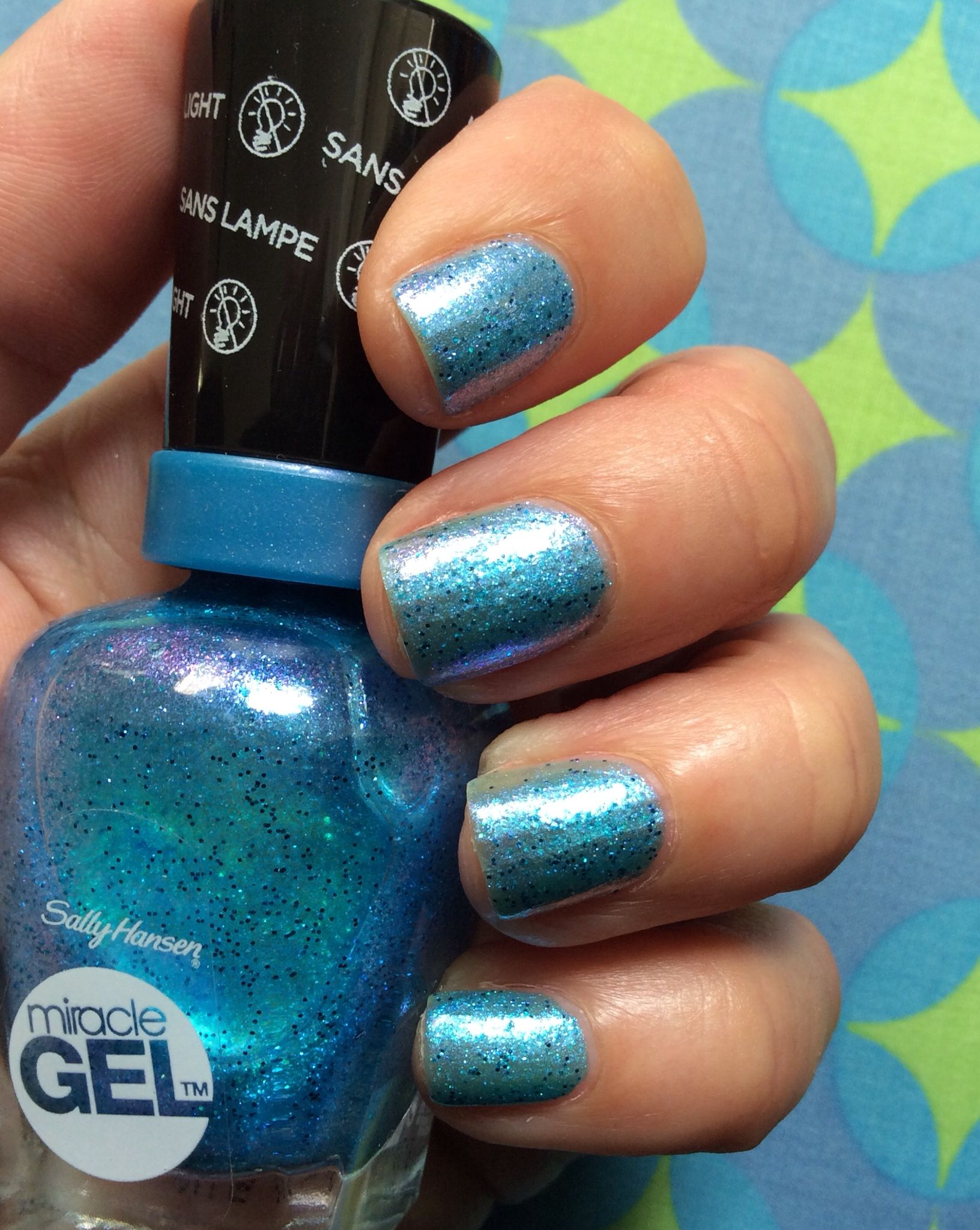 sally hansen miracle gel how to use