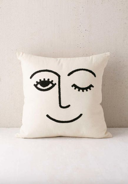 21 Gifts For Your Friend Who Thinks They Re Gwyneth Paltrow Embroidered Pillow Urban Outfitters Pillows Creative Pillows