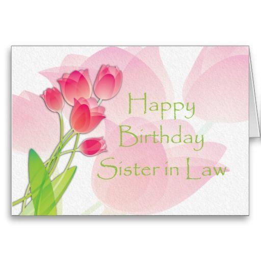 Happy Birthday Sister In Laws Pinterest Happy Birthday Happy