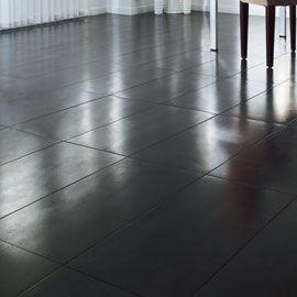 Carrelage sol noir métal Jack 30 x 60 cm | Sols | Pinterest