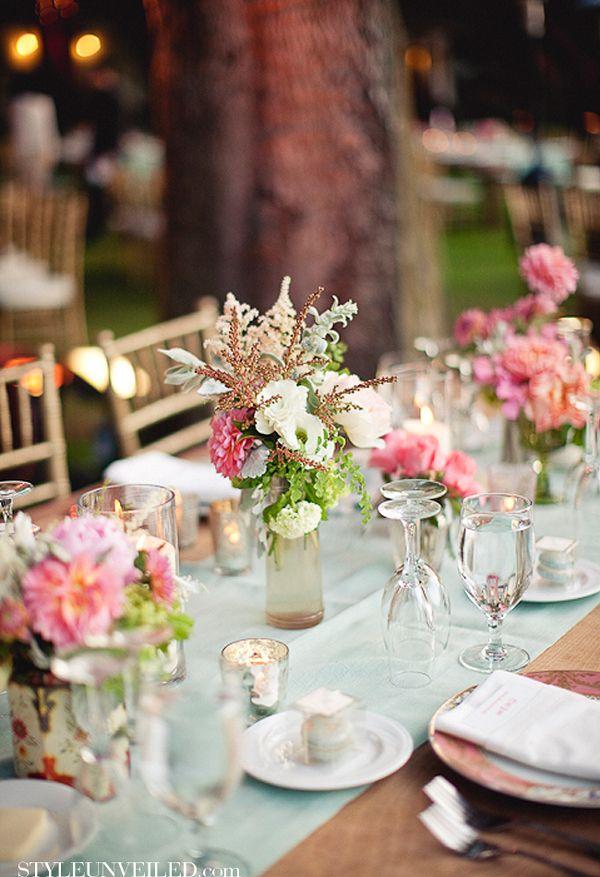 Bauernhochzeit Landhaus Hochzeit Wild Romantische Tischdeko