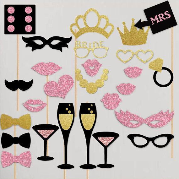 Bachelorette Party Hen Night Gift Vegas Theme Photobooth