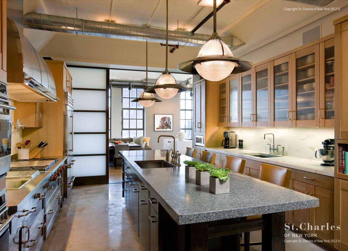 Tribeca Loft Kitchenst Charles Of New York  Lofty Ambitions Entrancing New York Kitchen Design Style Design Decoration