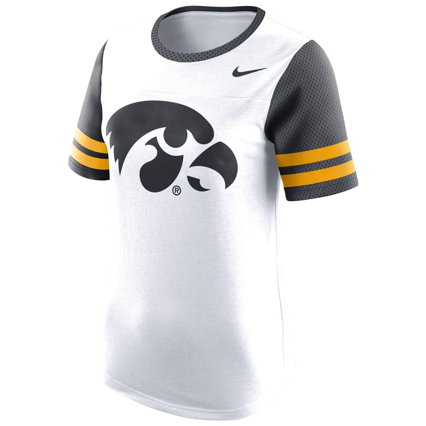 Iowa Hawkeyes Nike Women S Gear Up Modern Fan T Shirt White 41 99 Nike Women Women Shirts White [ 1472 x 1472 Pixel ]
