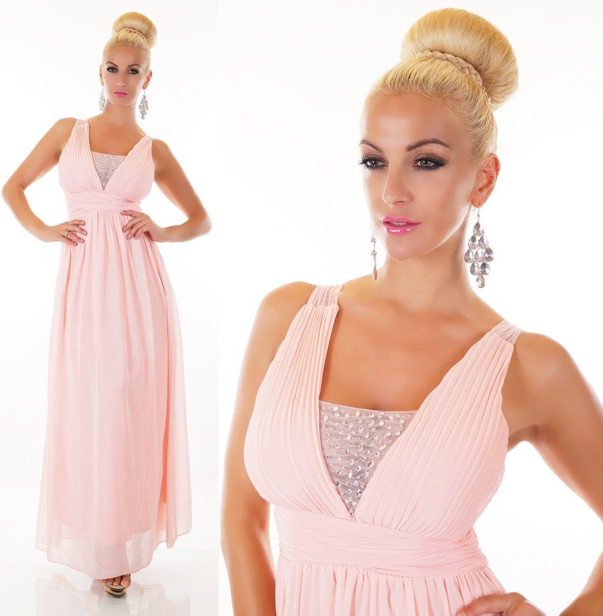 Dlouhé společenské šaty sv.růžové  0a75b3bce4