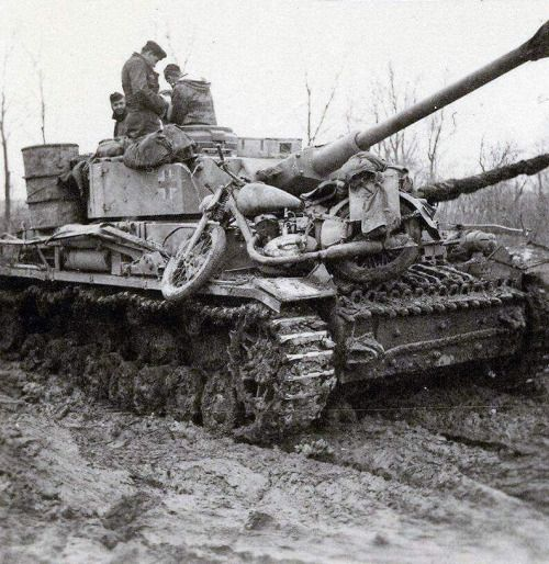 "Panzer IV Ausf.H and DKW NZ 350 ""Everything but the kitchen sink"""