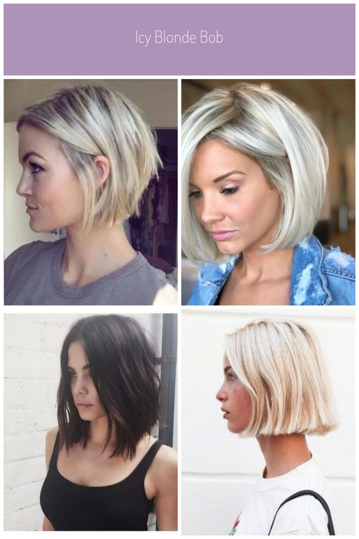 Steven Saved To Steps25 Kurze Bob Frisuren Fur Feines Haar Bob Corto Blonde In 2020 Hair Beauty Subtle Balayage Beauty