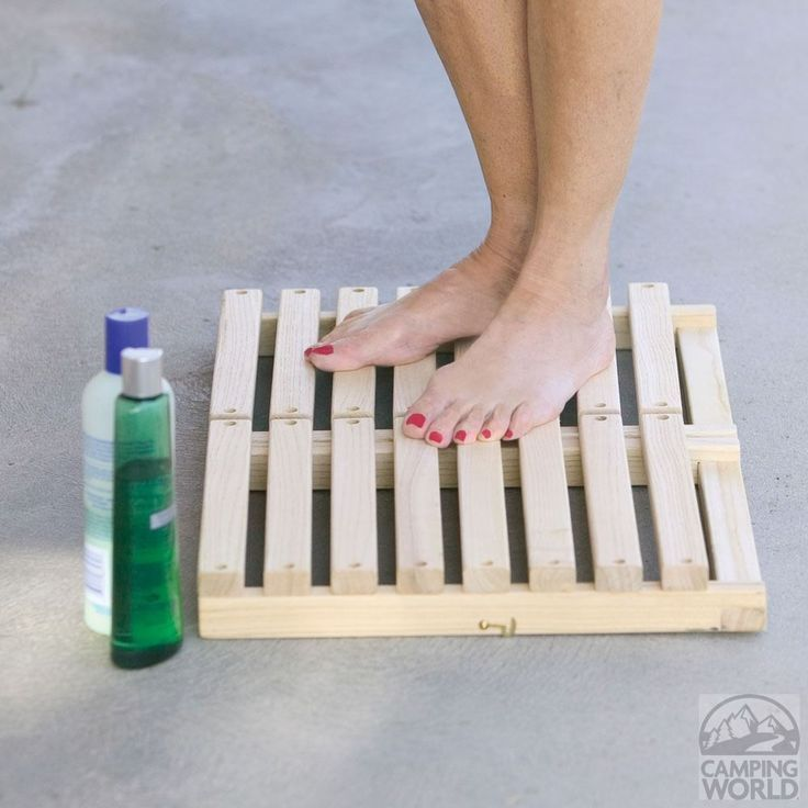 Photo of Portable Shower Deck