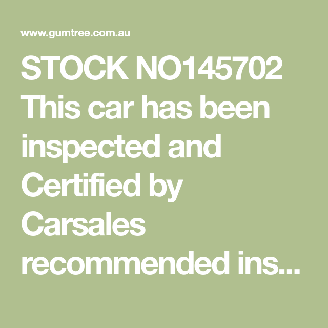 Stock No145702 This Car Has Been Inspected And Certified By Carsales Recommended Inspection Service Redbook Inspectyou Will See Ca In 2020 Benz Sprinter Volkswagen Tdi