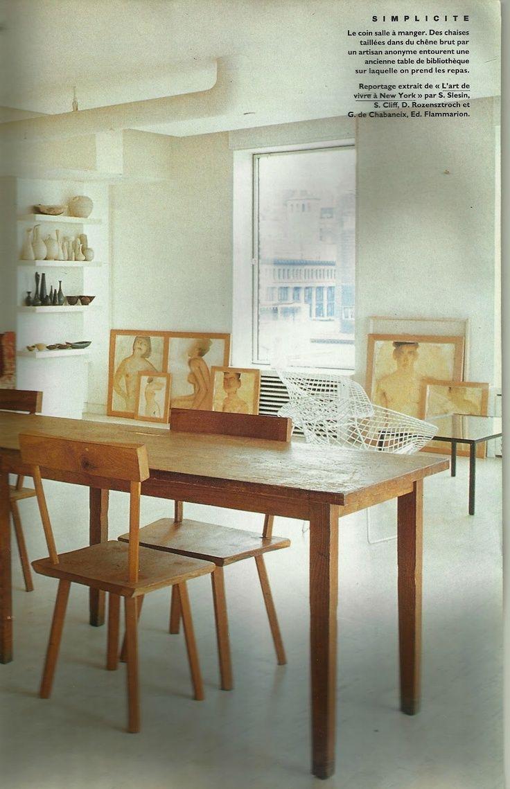 Mats Gustafson S New York Loft Interior Home Vintage Interior