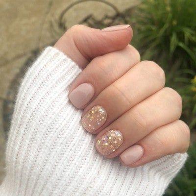 d232 high in 2020  revel nail dip powder neutral nails