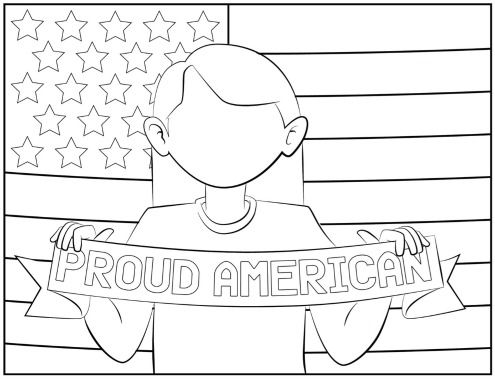 July 4th Coloring Pages Summer