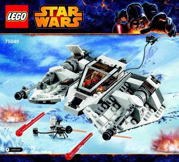 Star Wars Episode 4-6 - Snowspeeder [Lego 75049] Instructions ...
