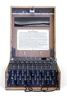 ENIGMA encryption/decryption device The ENIGMA cipher machine was