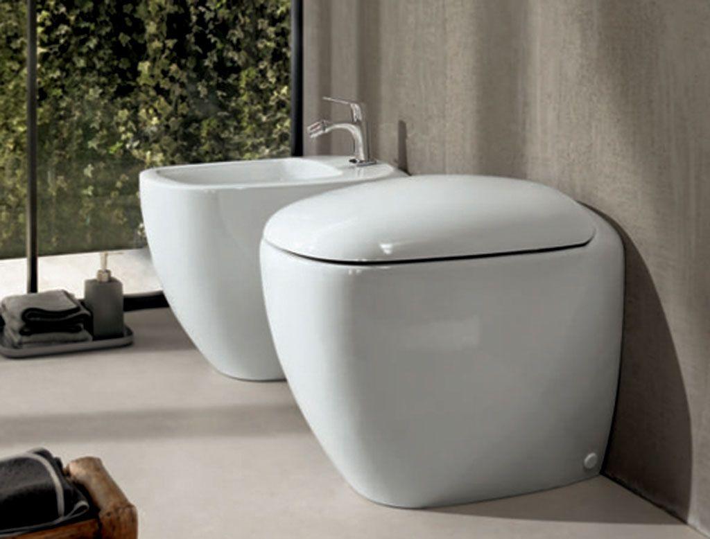 POZZI GINORI Citterio #Vaso a #terra. #bagno #sanitari http://www ...