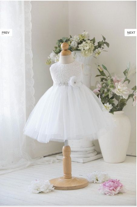 Lace Baby Dress Baby girl dress Toddler dress Christening baby dress ...