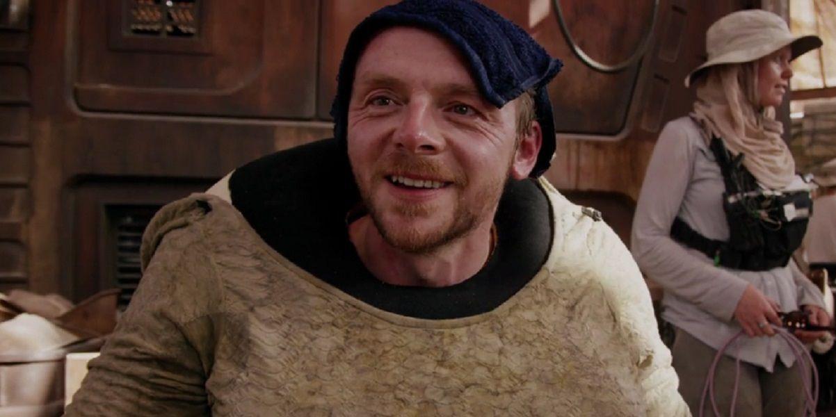 'Star Wars: The Force Awakens': J.J. Abrams Explains Simon Pegg's Involvement - http://screenrant.com/star-wars-force-awakens-simon-pegg-role/