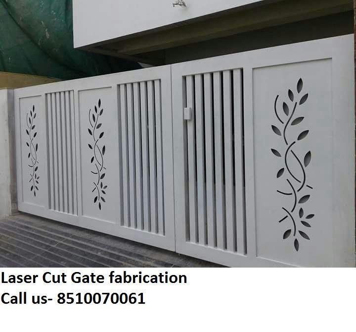 Home Design Gate Ideas: Pin On Laser Cut Railing Door