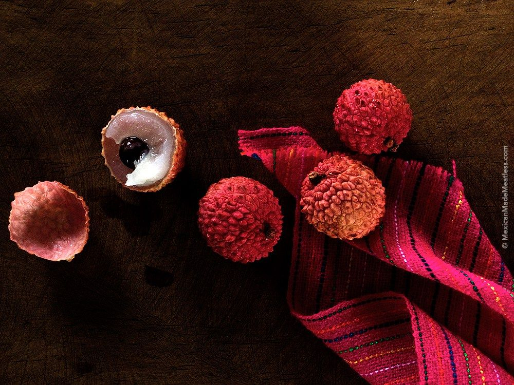 Did you know that lychee fruits are also grown and eaten in Mexico?