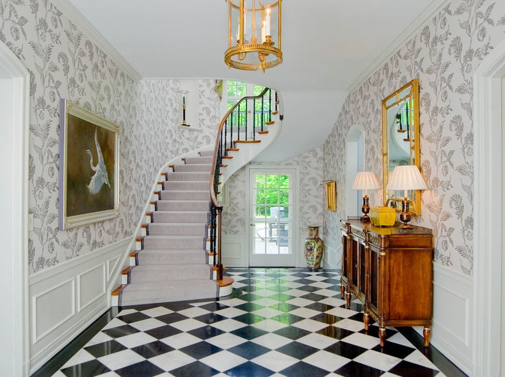 Foyer Tile Direction : Pin by alla * on entryway foyer pinterest foyers checkerboard