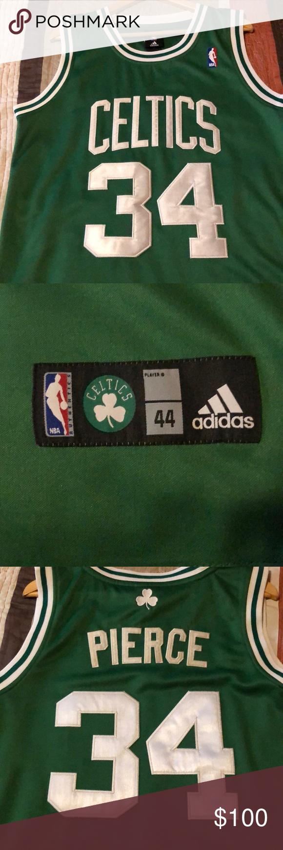 sports shoes de3e6 1ed16 NBA AUTHENTIC JERSEY same as worn on court!!! Boston Celtics ...