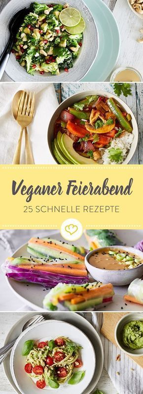 Diventa vegano! 25 ricette veloci per la fine della giornata