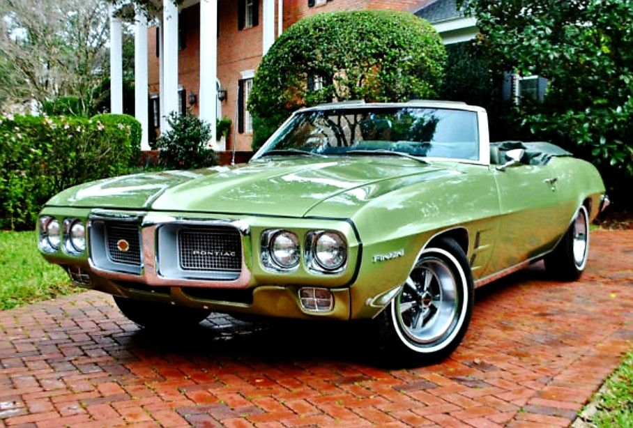 1969 Pontiac Firebird convertible Pontiac firebird for