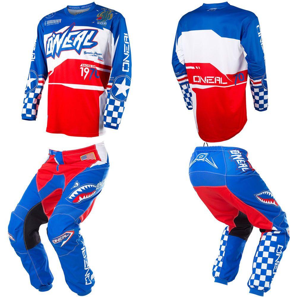O Neal Element Afterburner Kids Youth Motocross Dirtbike Gear Jersey Pants Combo Youth Dirt Bike Gear Riding Gear Bike Jersey