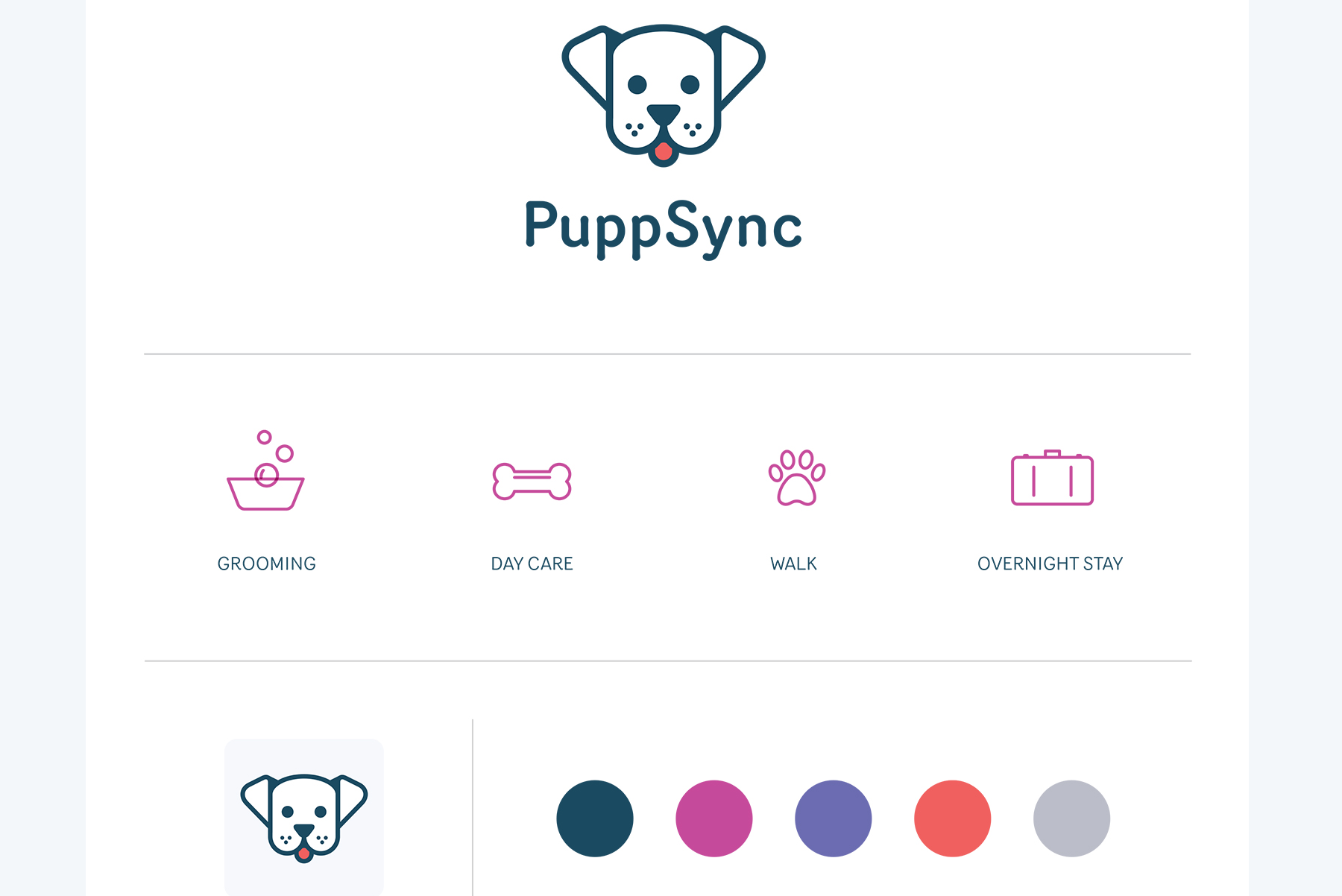 PuppSync Fonts In Use In use, Service animal, Village