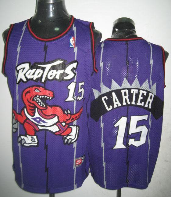Toronto Raptors Vince Carter  15 Purple Jersey  666b6ac00