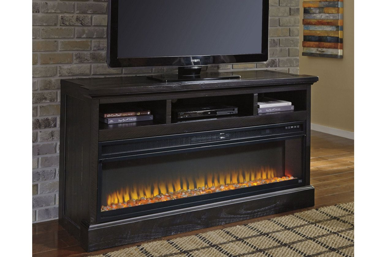 Sharlowe 64 Tv Stand With Electric Fireplace Ashley Furniture Home