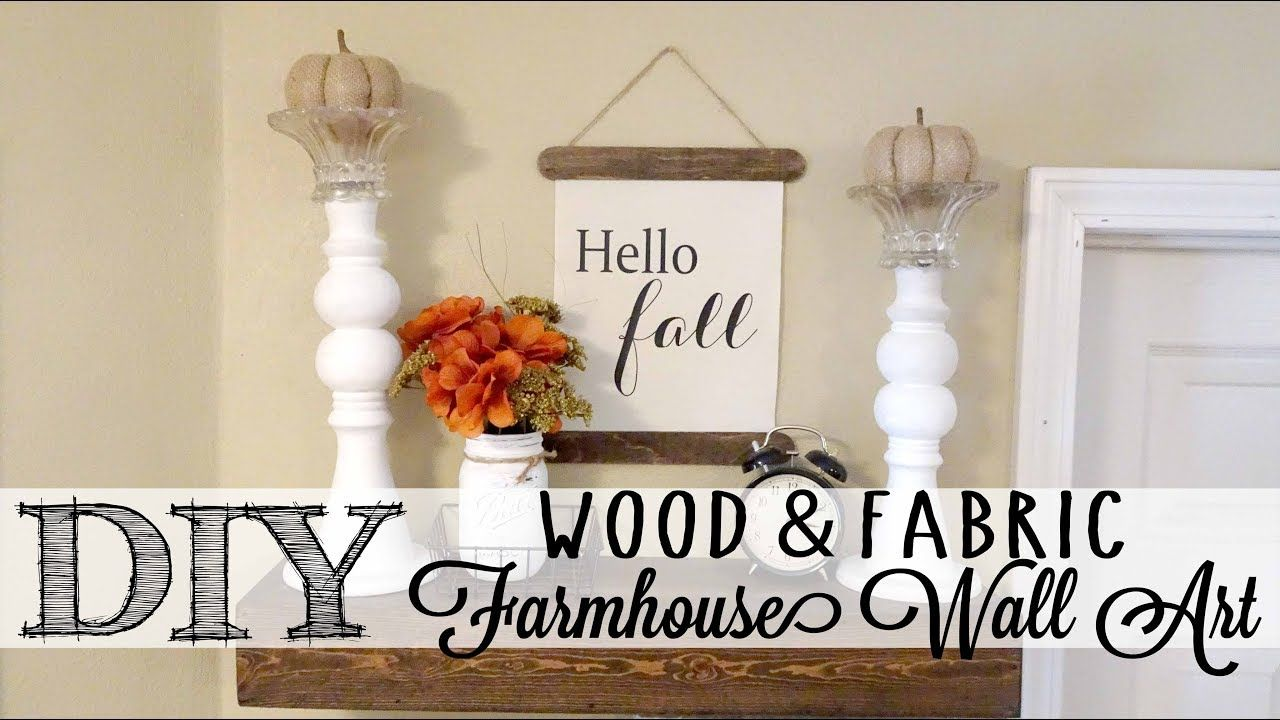 add a touch of farmhouse style to your home with this easy and