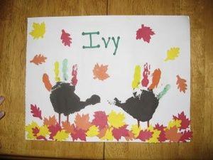 Handprint Turkey Art