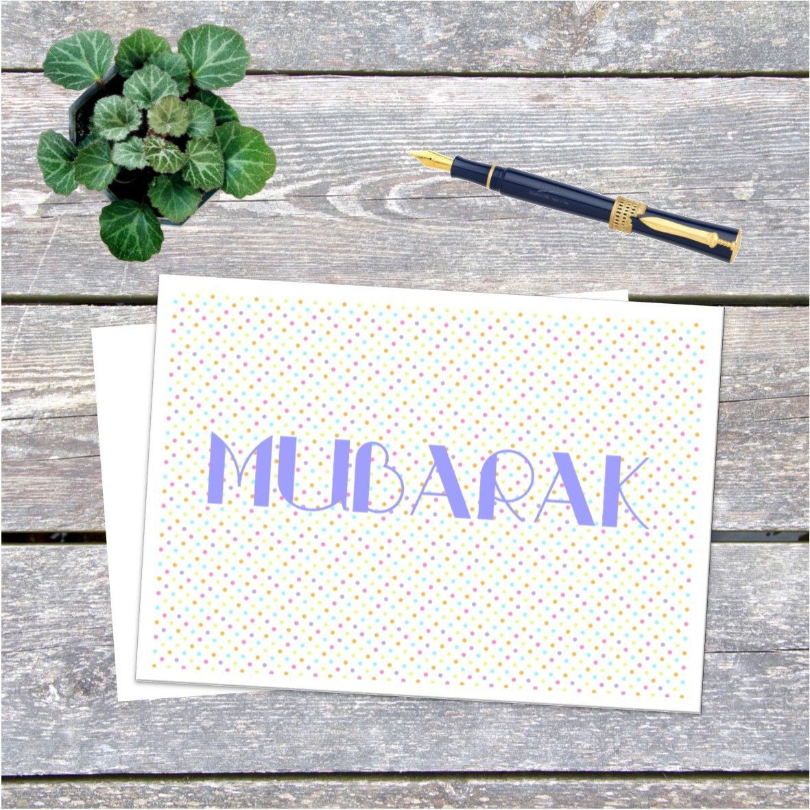 Mubarak congrats islamic greeting card products pinterest mubarak congrats islamic greeting card from kaamilah online kristyandbryce Image collections