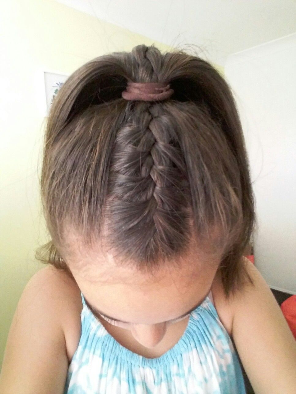 French Braid Into A High Ponytail High Ponytail Hairstyles French Braid Ponytail Dance Hairstyles