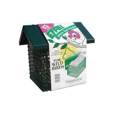 C&S Products Ez Fill Deluxe Triple Suet Cake Bird Feeder