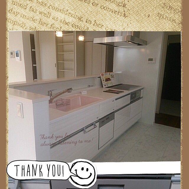 キッチン アイランドキッチン ホワイト タカラスタンダード 天井照明