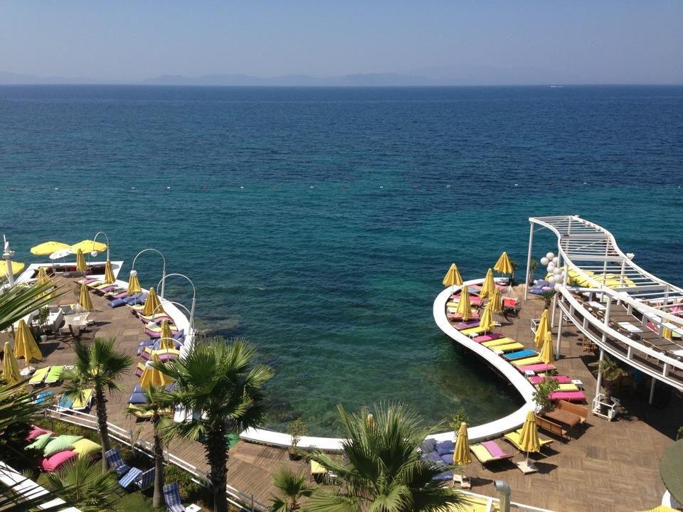 Miracle Beach Club Ladies Beach Kusadasi Miracle Beach