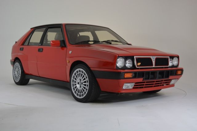 1990 lancia delta integrale hf 16 valve 2.0 turbo awd rare find /  collectable   lancia delta, delta, classic cars  pinterest