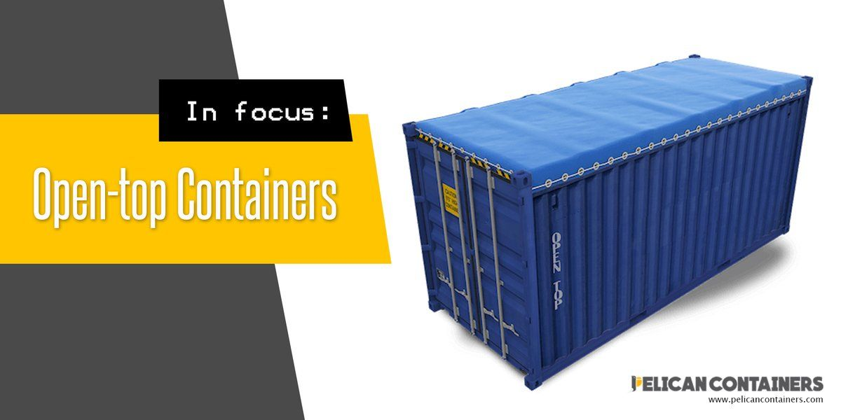 We Offers Open Top Used Shipping Containers In Three Different Sizes 10 20 Used Shipping Containers Shipping Containers For Sale Shipping Container Design